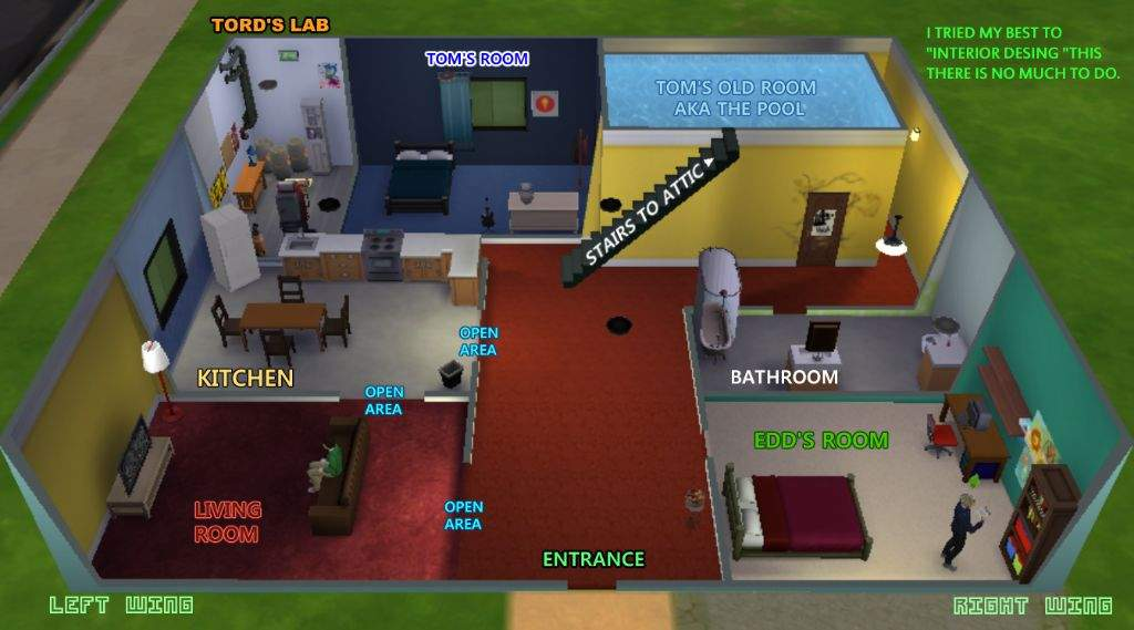 The Impossible Eddsworld House In Sims 4 161 🌎eddsworld🌎 Amino