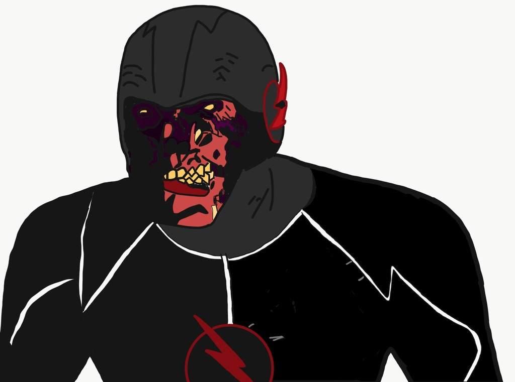 Did A Digital Drawing Of Black Flash Comics Amino