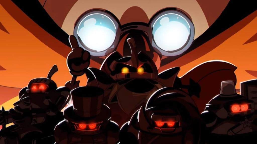 Eggman Robot Masters Sonic The Hedgehog Amino