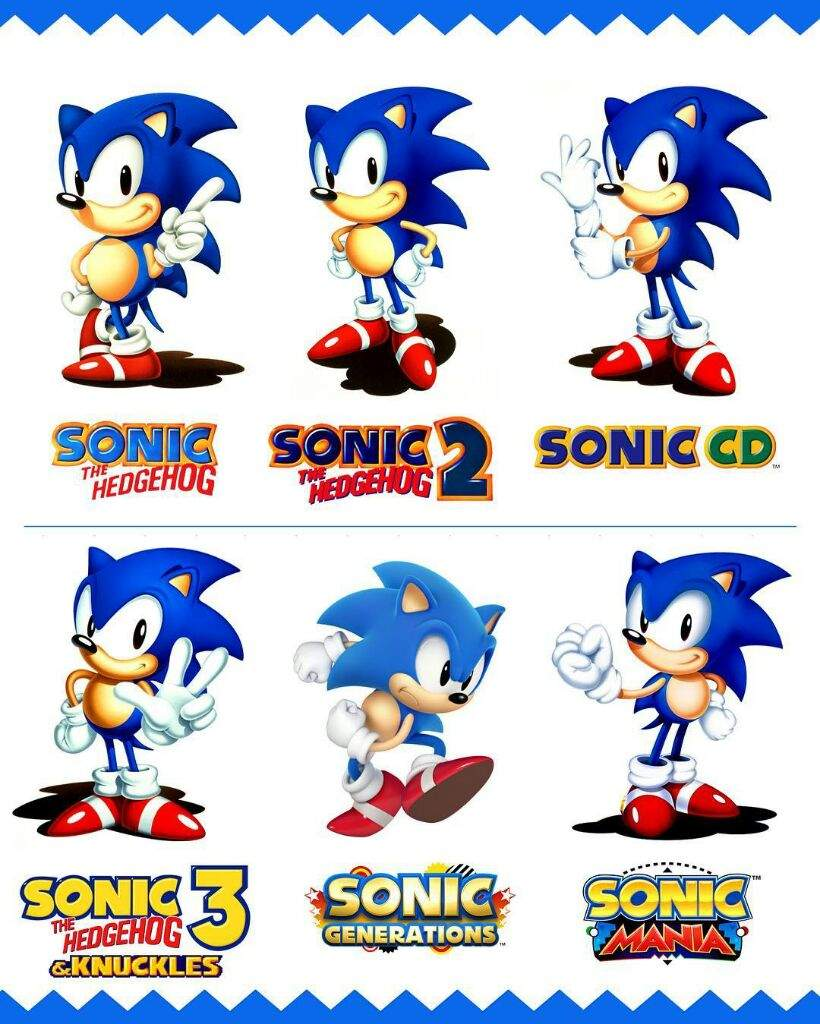 My Top 7 Favorites 2d Sonic The Hedgehog Games Video Games Amino
