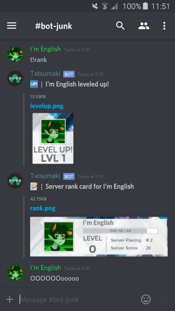 Matchmaking bot discord