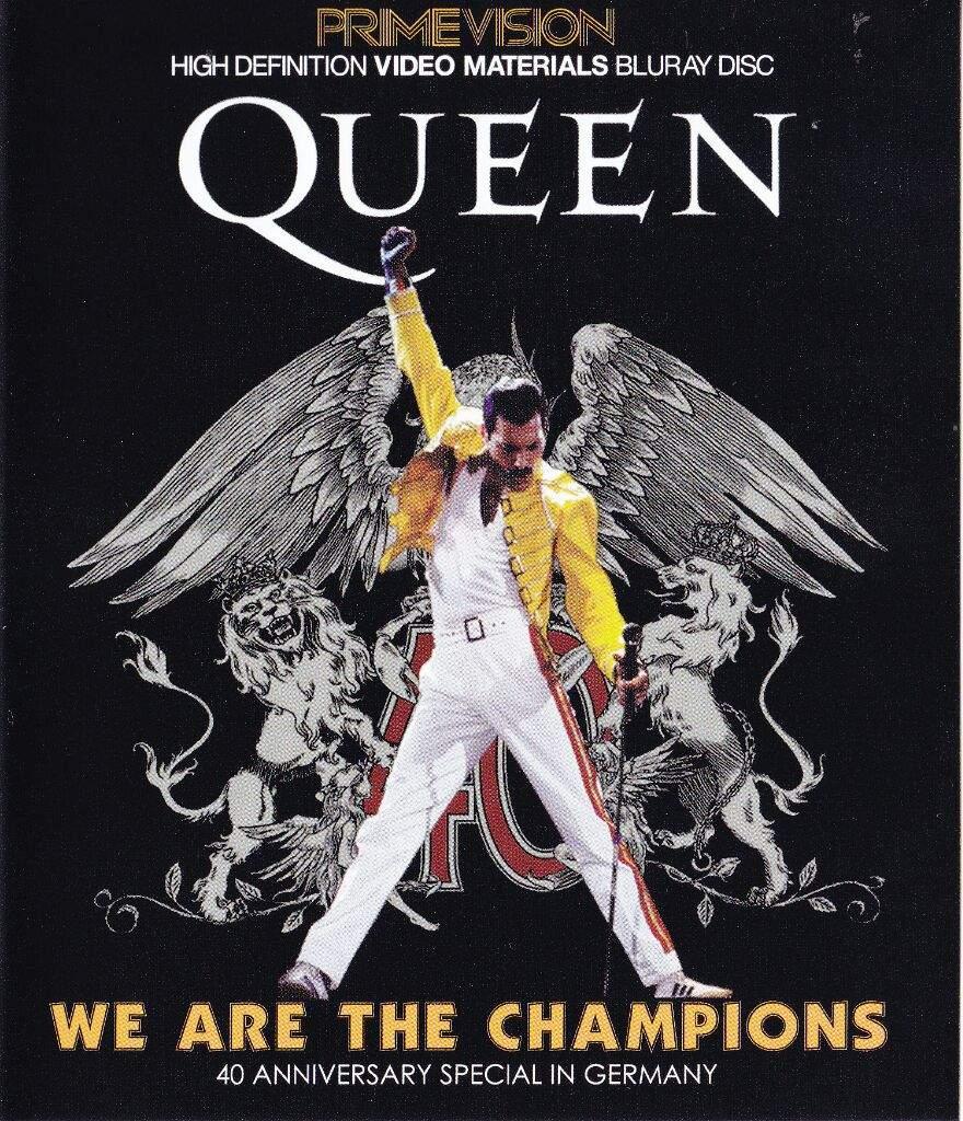 Resultado de imagem para we are the champions