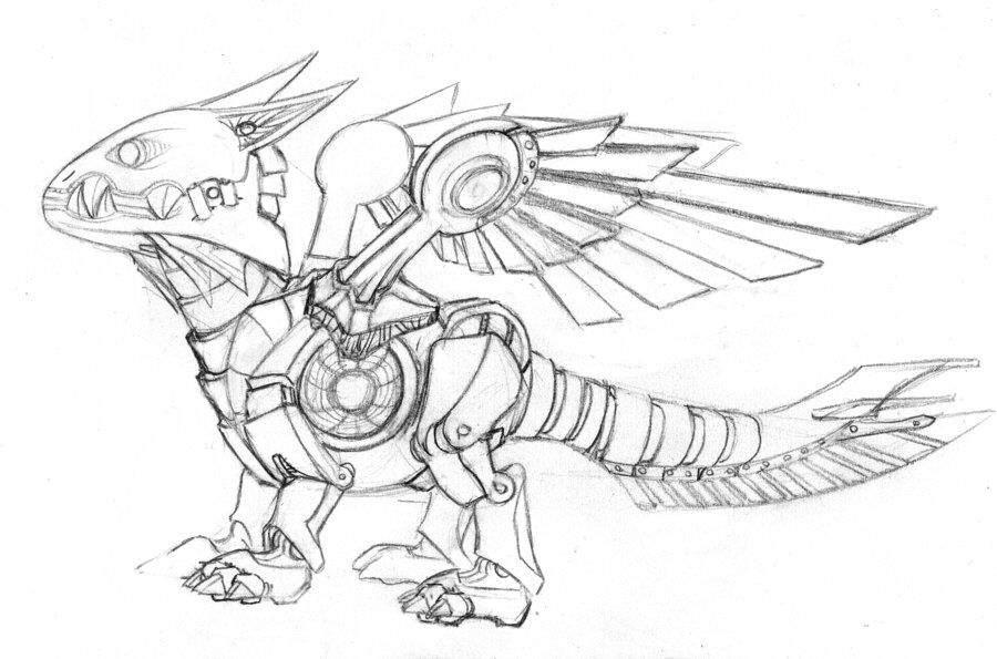 robot challenge dragon artists amino