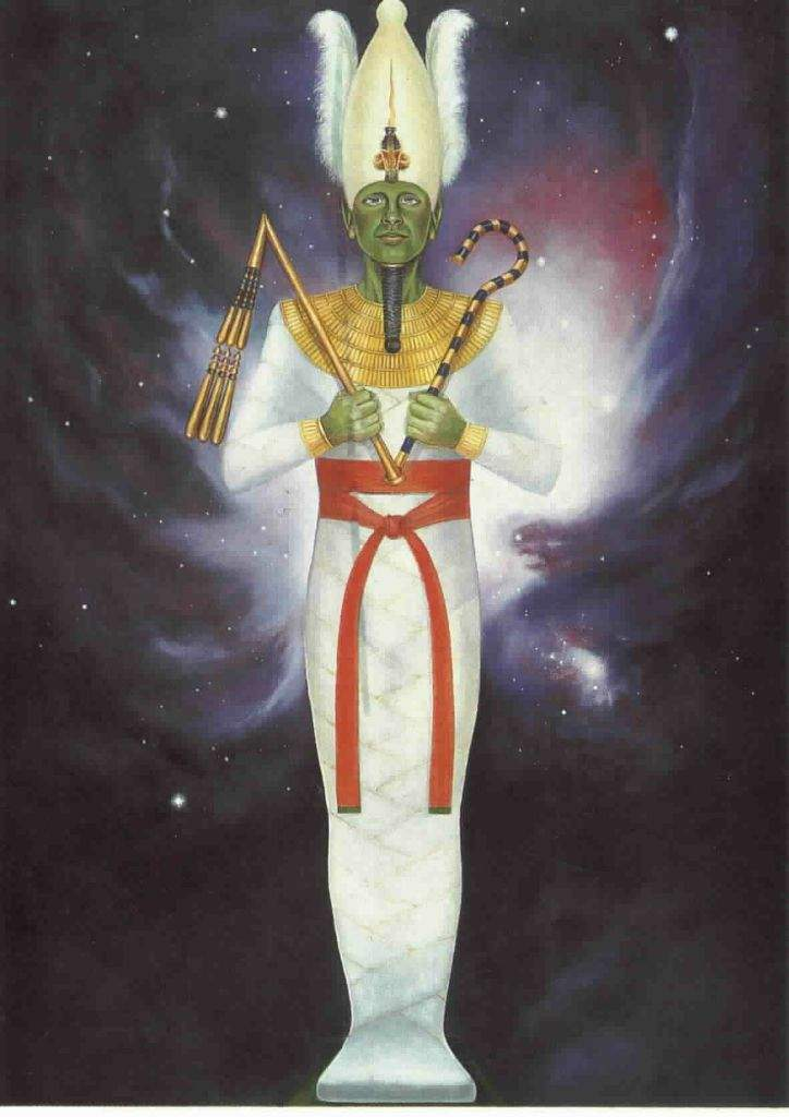 😍 Osiris God of the afterlife 💚 in 2019 | Egyptian