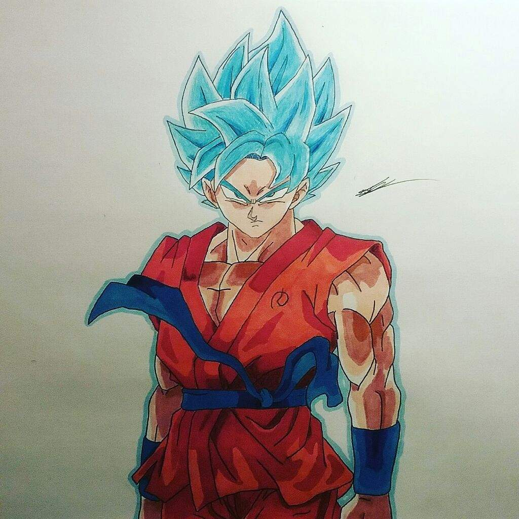 Whats This Super Saiyan With Blue Hair Dye Super Saiyan Blue Goku