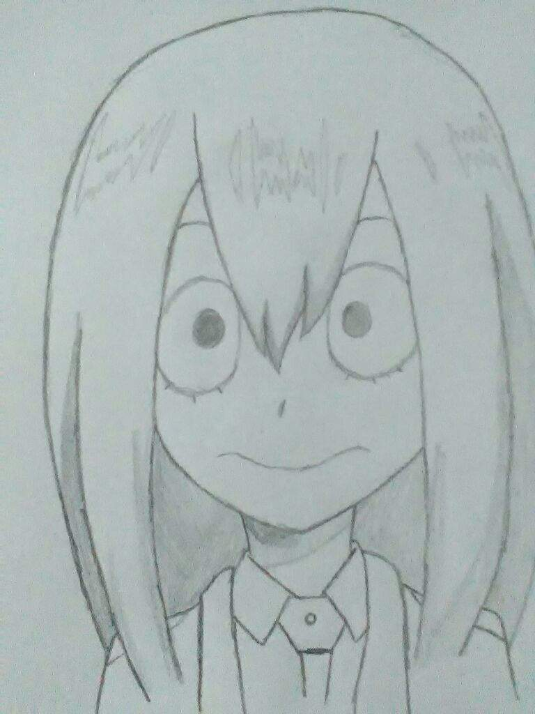 My Drawing Of Tsuyu Asui My Hero Academia 10 Art Anime Amino