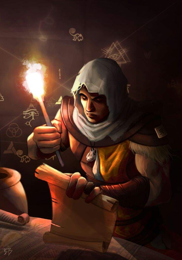 Bayek And The Mysteries Of Ancient Egypt Assassins Creed Amino