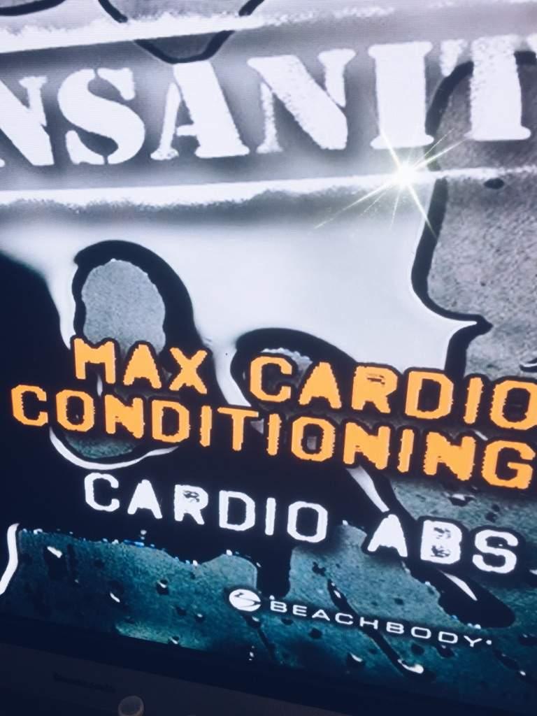 Insanity Max Cardio Conditioning