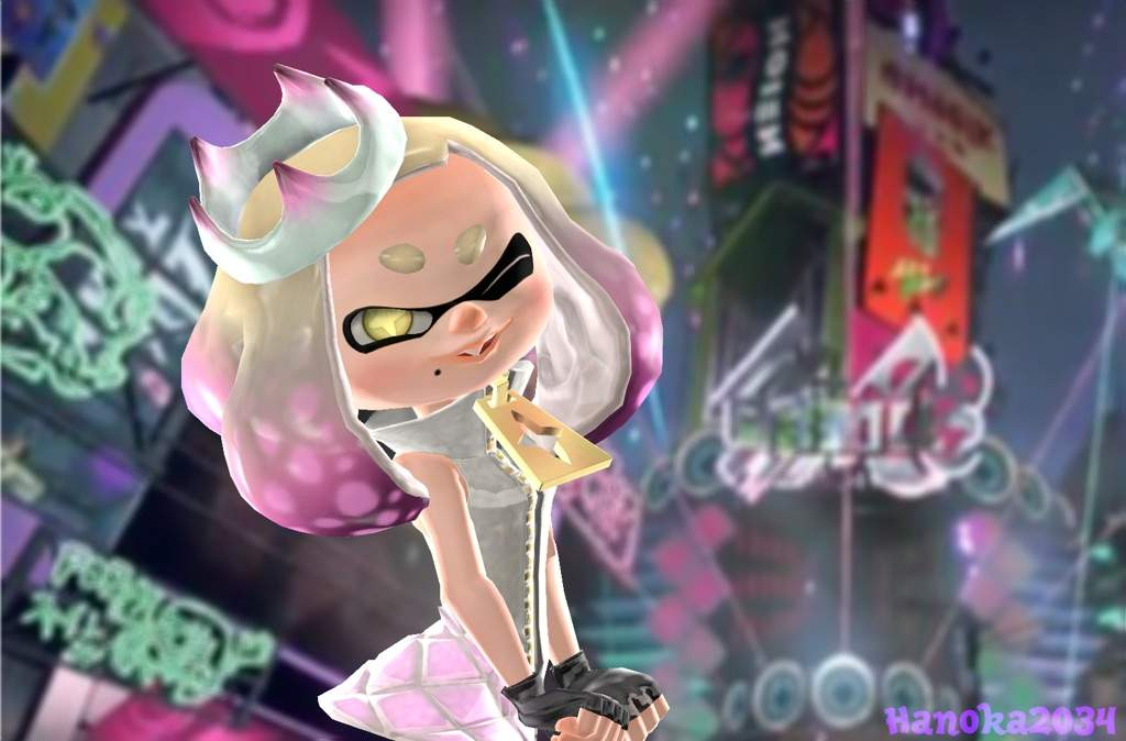 Image result for splatoon pearl poster