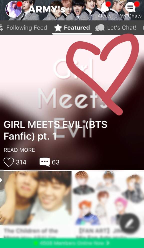 GIRL MEETS EVIL (BTS Fanfic) pt  1 | ARMY's Amino