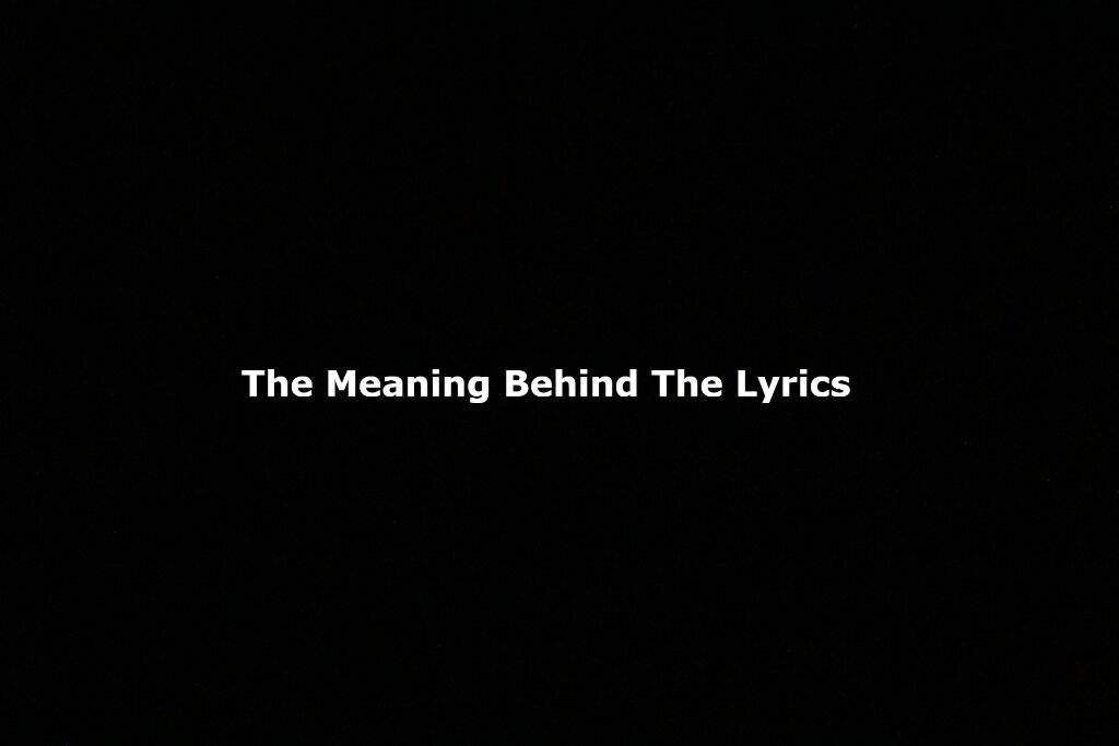 Lyric black lyrics : The Meaning Behind The Lyrics] BTS: Baepsae | ARMY's Amino