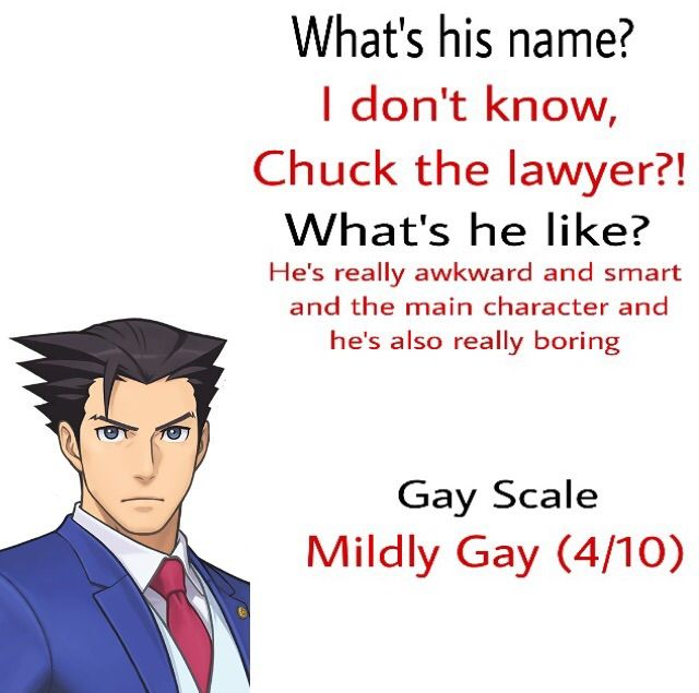 Ace Attorney In Depth Character Analysis By My Sister Who Knows