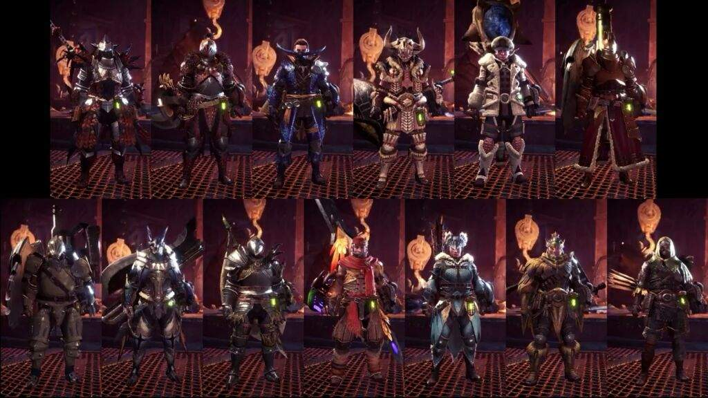 Wich Armor Are You Exited For Monster Hunter World Monster