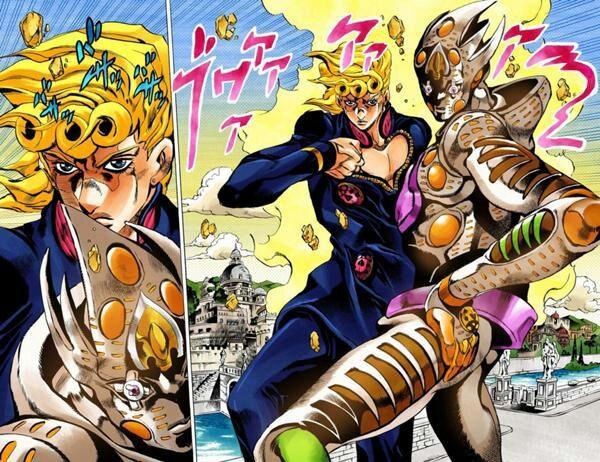finished part 5 of jojo s bizarre adventure anime amino