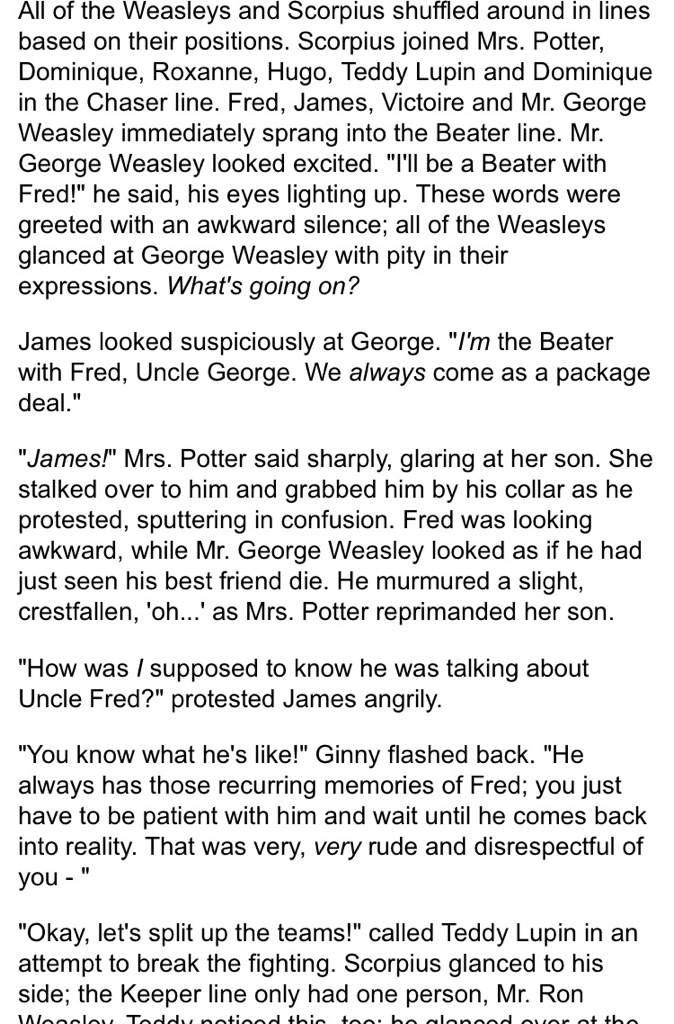 I was reading fanfiction (never a good idea) | Harry Potter