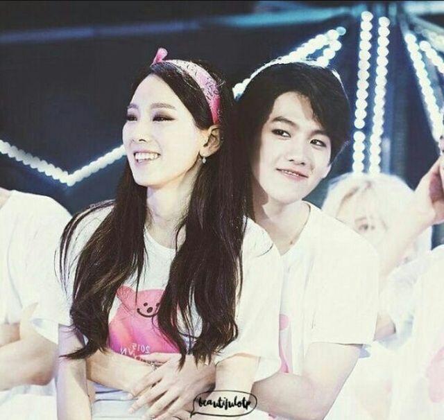when did taeyeon and baekhyun date