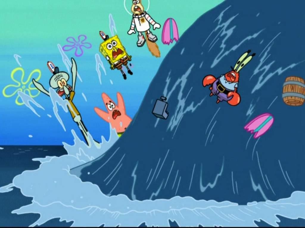spongebob vs the big one review cartoon amino