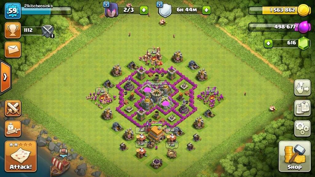 Th6 Farming Base Coc Clash Of Clans Amino