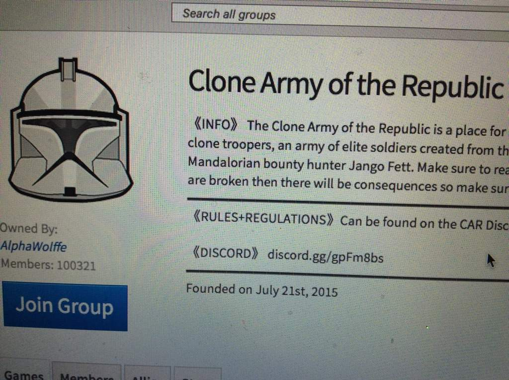 Roblox Clone Army Logo Good Bye Car Its A Group In Roblox Roblox Amino