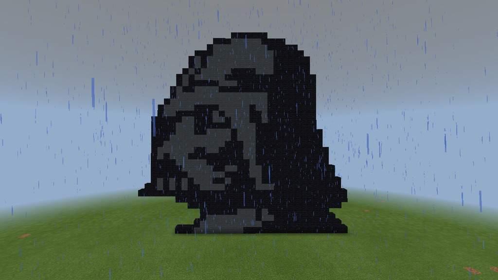 8 Bit Darth Vader Challengeminecraft Star Wars Amino