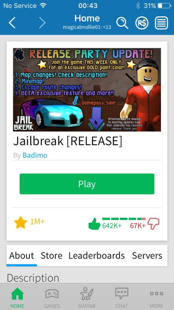 Is Jailbreak Taking Over Roblox Roblox Amino