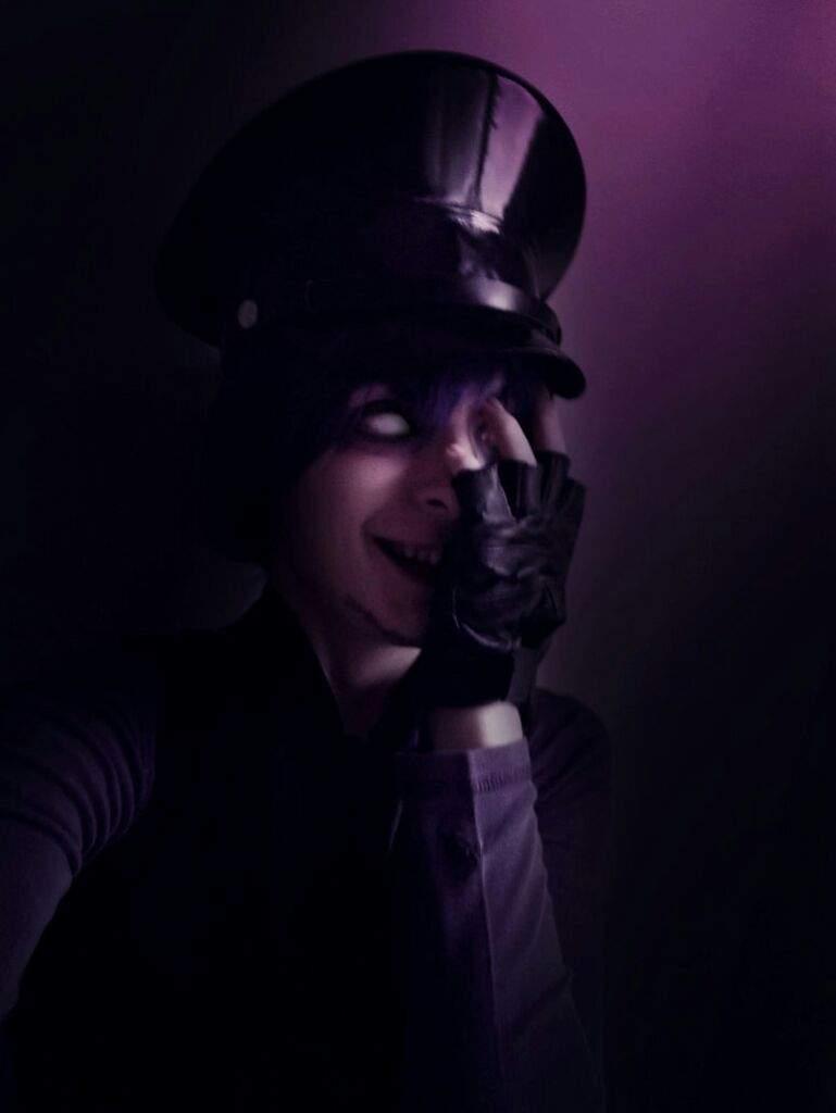Purple guy five nights at freddys cosplay