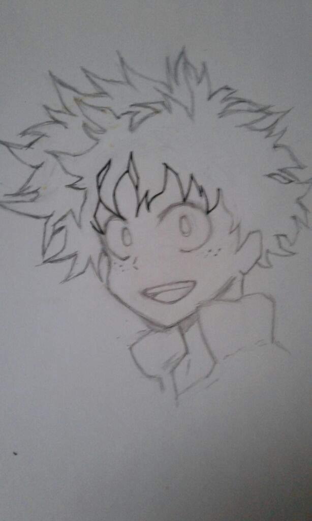 Midoriya Izuku Drawing Tutorial Anime Amino