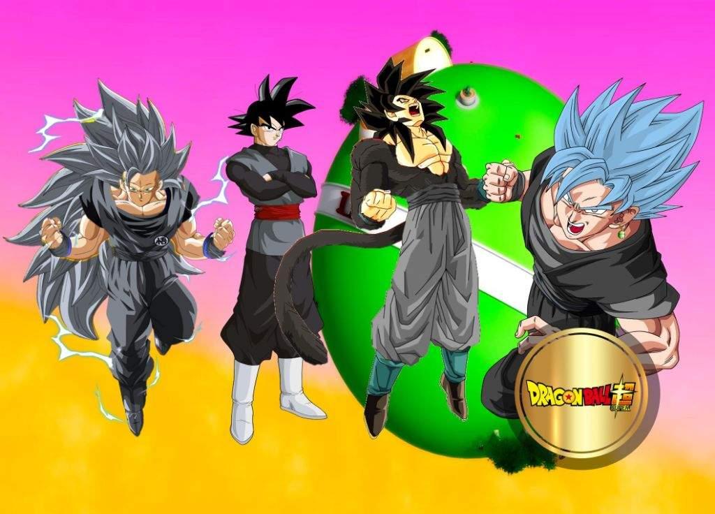 Todas Las Fases De Goku Para Colorear: LAS FASES DE GOKU BLACK