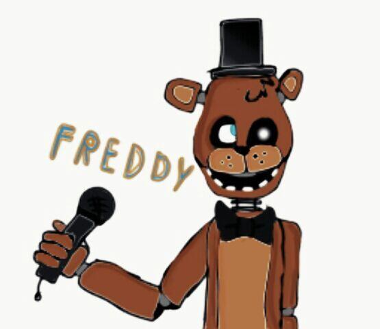 desenho do freddy feito por mim five nights at freddys pt br amino