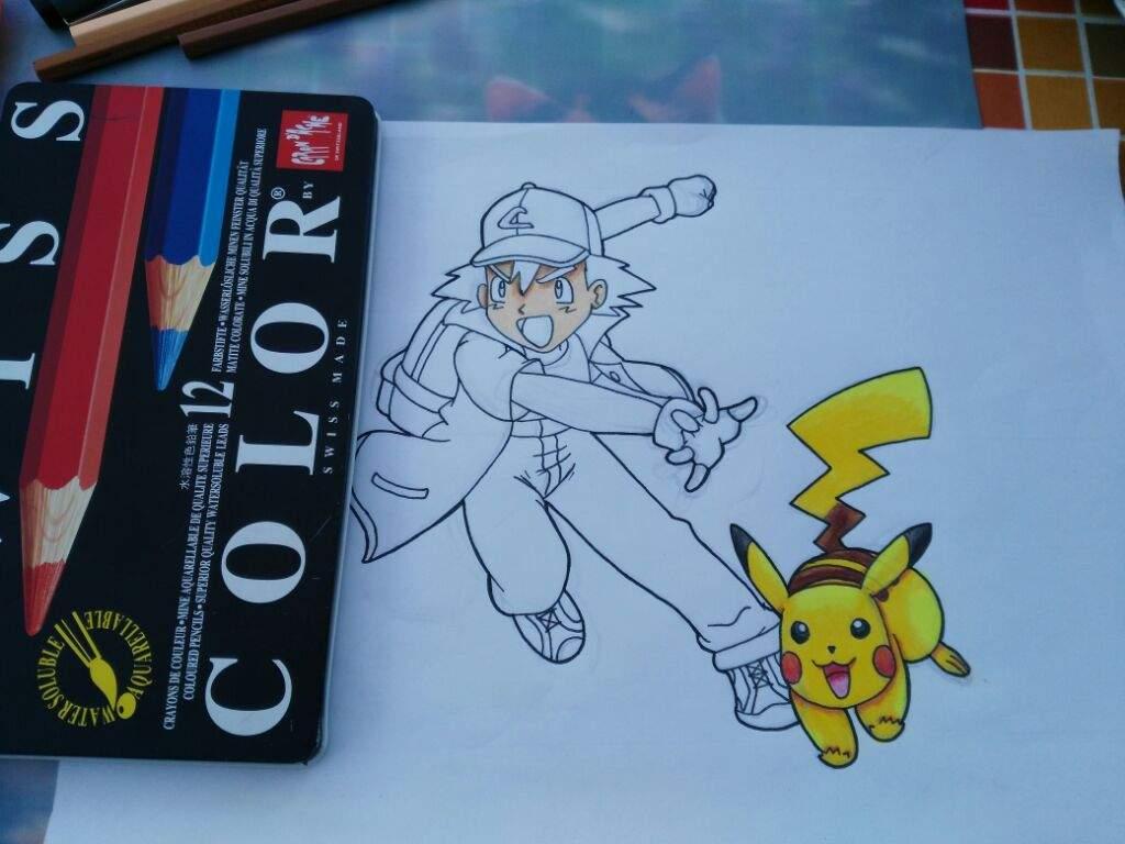 Dibujo de Ash Ketchum | DibujArte Amino