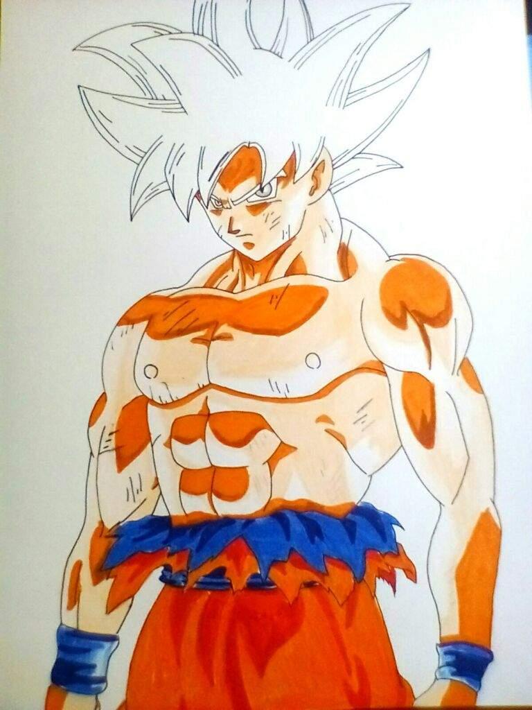 Dibujo De Goku Limit Breaker Dragon Ball Super Oficial Amino