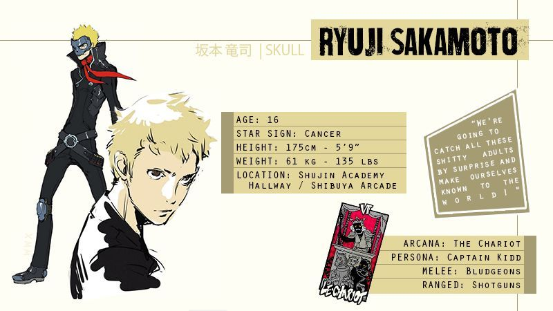 Chapter 2 Ryuji x Reader | SMT:Persona 5 Amino