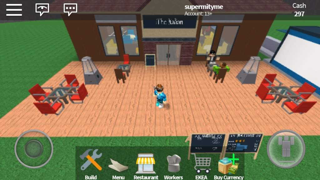 how to get up design in restaurant tycoon roblox