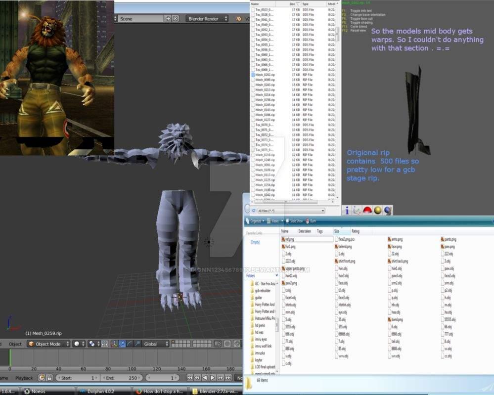 bloody roar primal instincts gado model | Video Games Amino