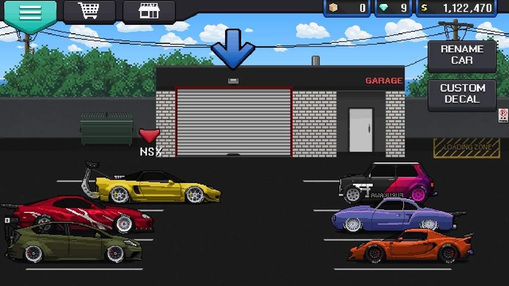 Pixel car racer amino amino