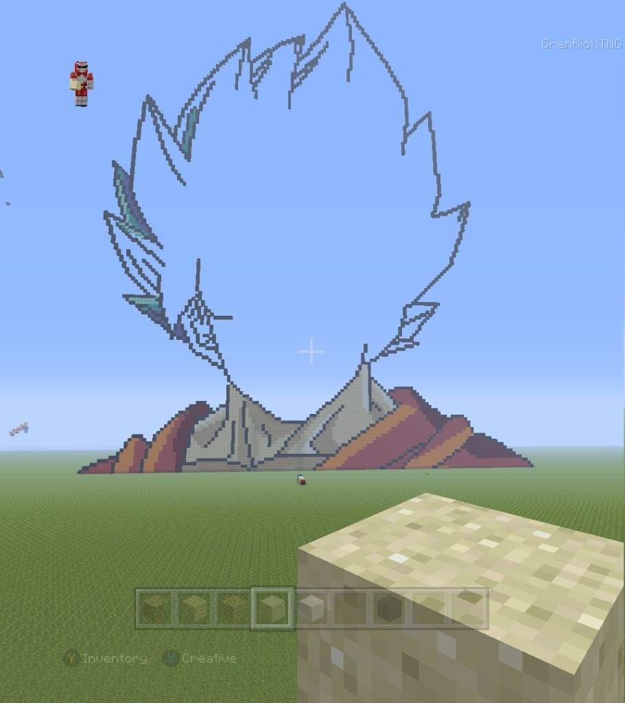 how to make goku in minecraft