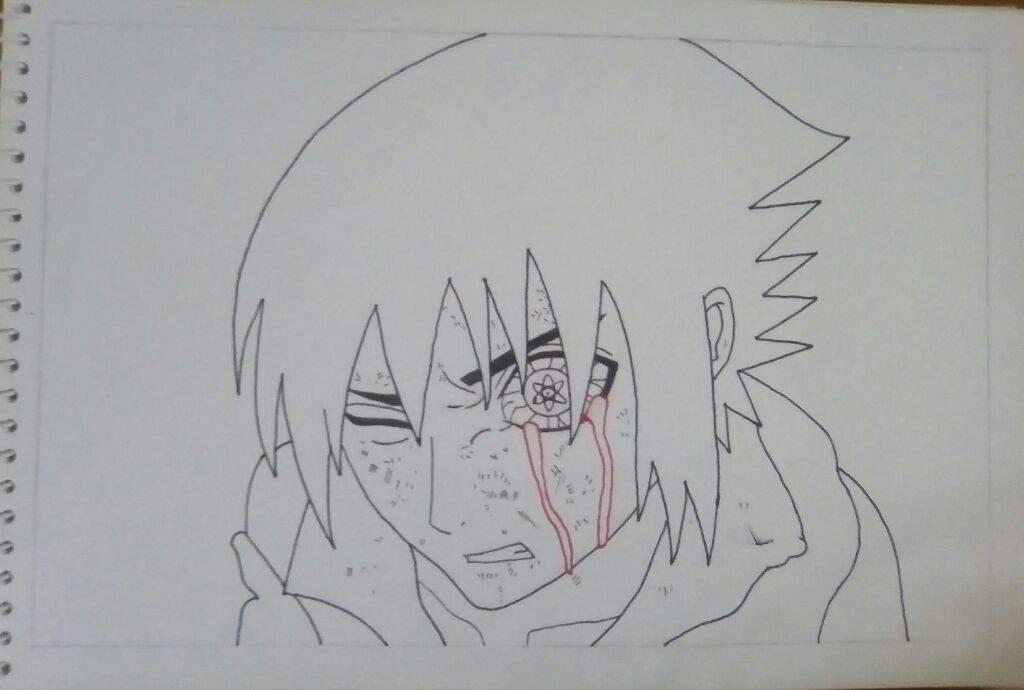 Sasuke Lineart : αиσтнєя sasuke uchiha drawing mangekyou sharingan naruto amino