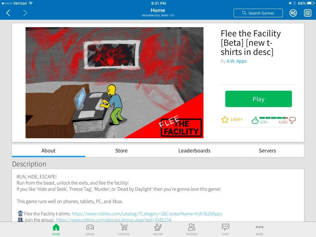 Review On Flee The Facility! | Roblox Amino