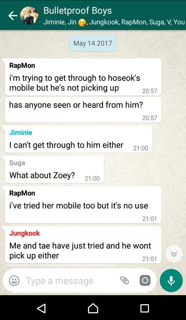 Fake Group Chat With BTS ft Being In A Relationship With