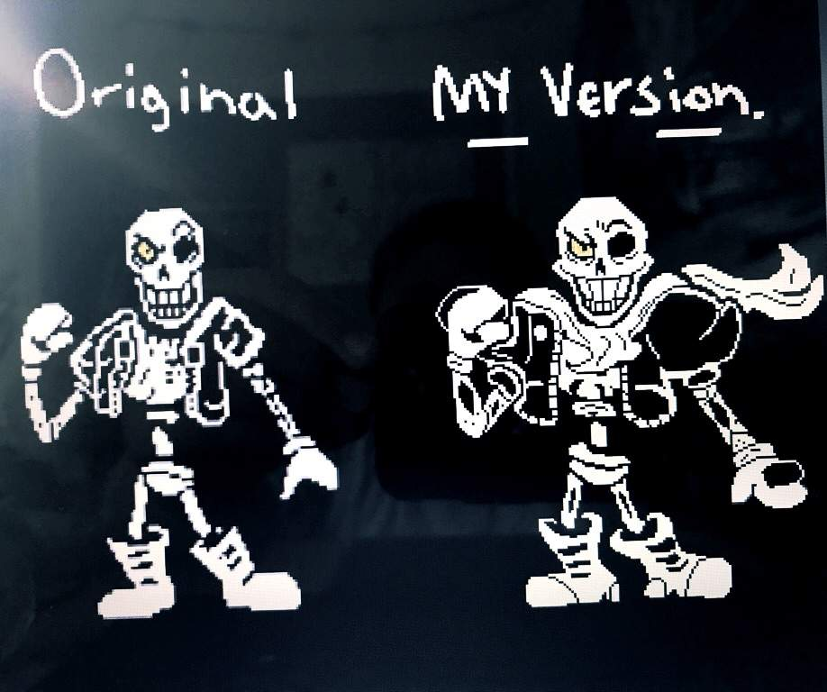 Beaches] Undertale disbelief papyrus fight phase 3