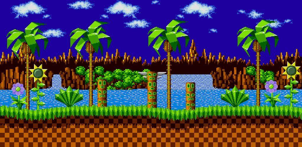 Green Hill Zone Main Series Wiki Sonic The Hedgehog Amino