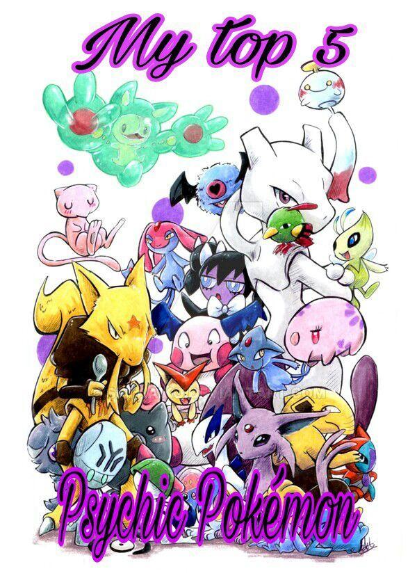 My top 5 Psychic Pokémon | Pokémon Ultra Sun And Moon ™ Amino