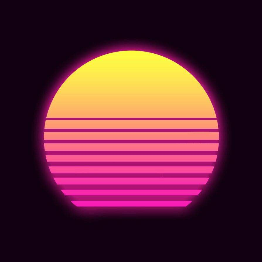 How To Create Your Own Retrowave Sun On Android Vaporwave Amino
