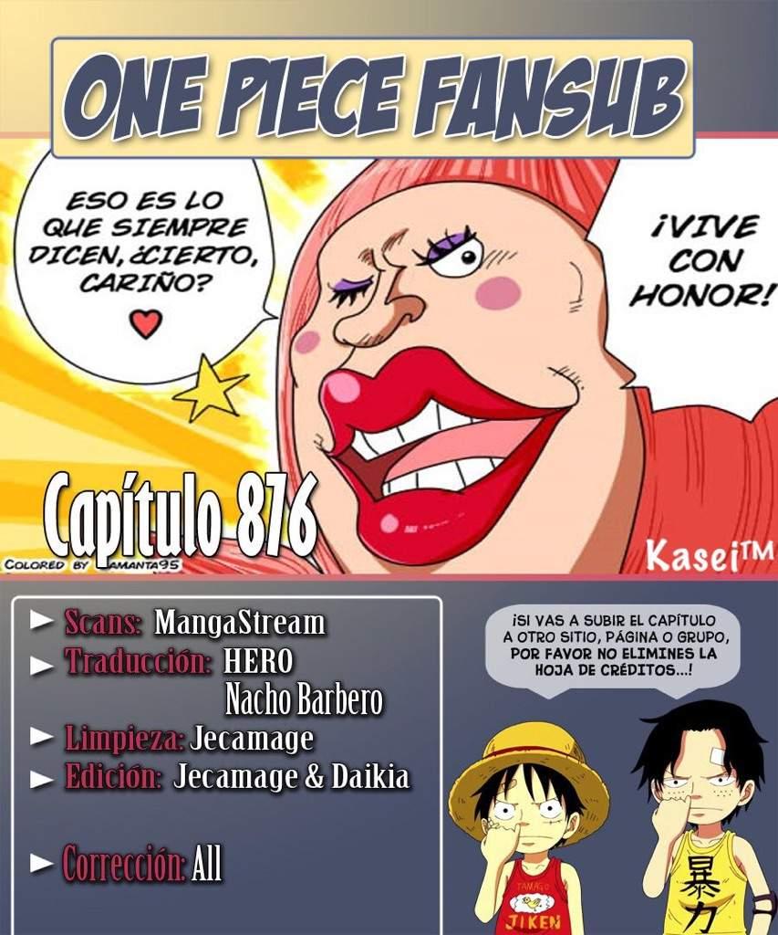 manga   one piece 876 📖   •one piece• amino