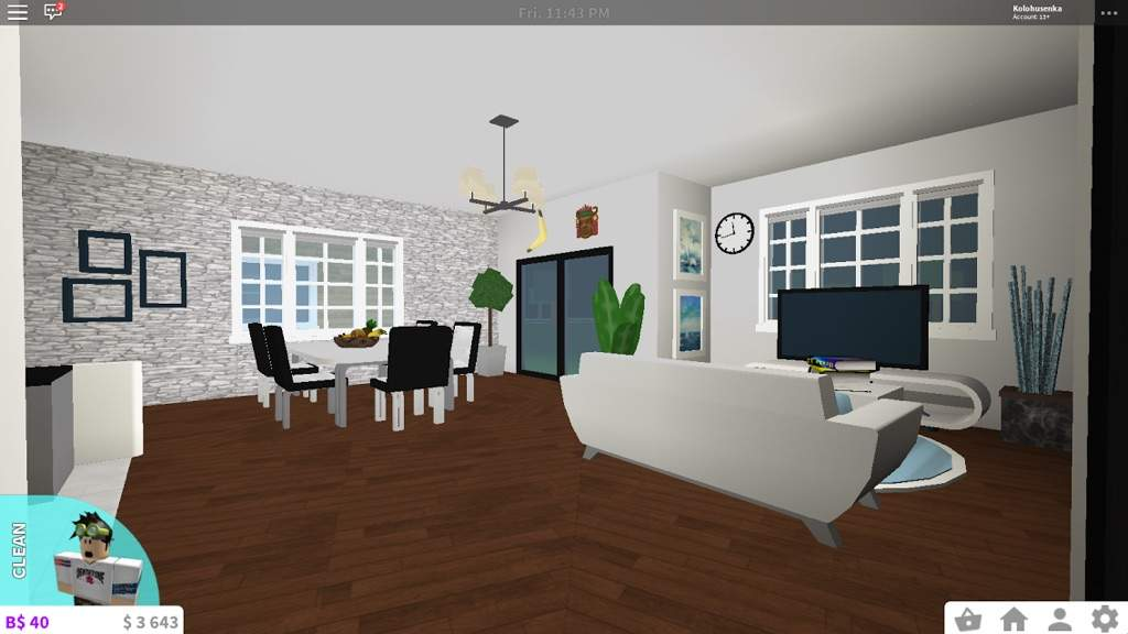 Roblox Room: My House In Bloxburg