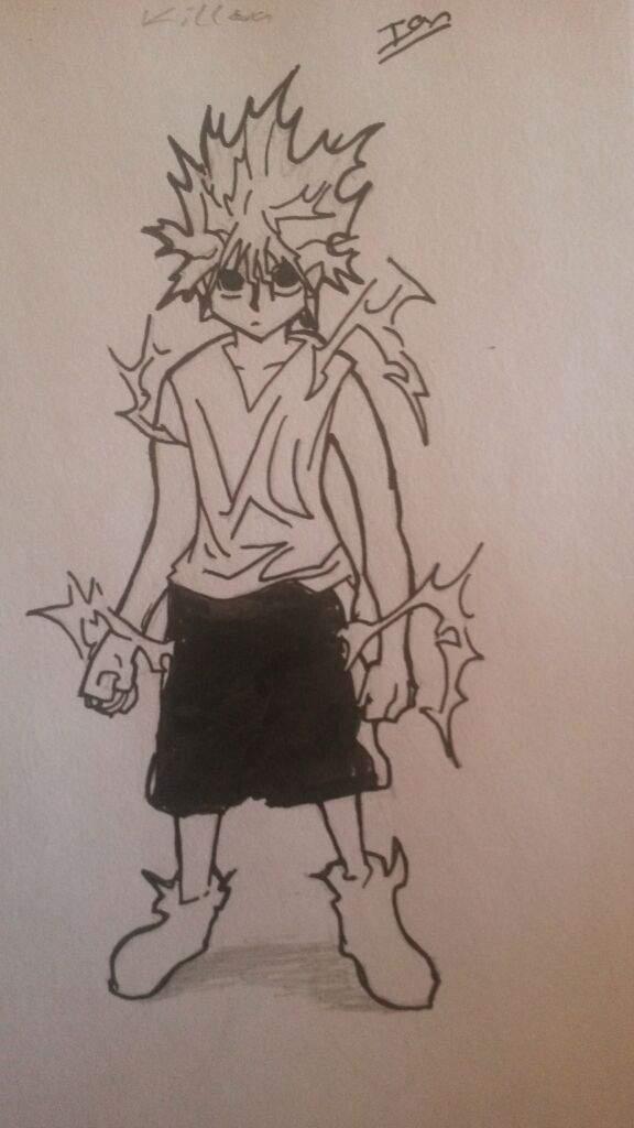 I M New Killua Manga Style Drawing Hunter X Hunter Amino