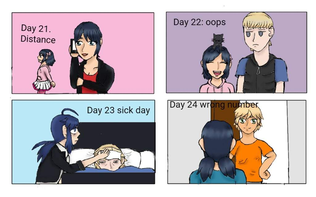 Days 21-24 of miraculous fluff month | Miraculous Amino