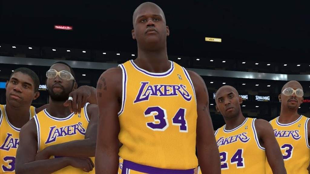 NBA2K Releases Lakers All Time Roster
