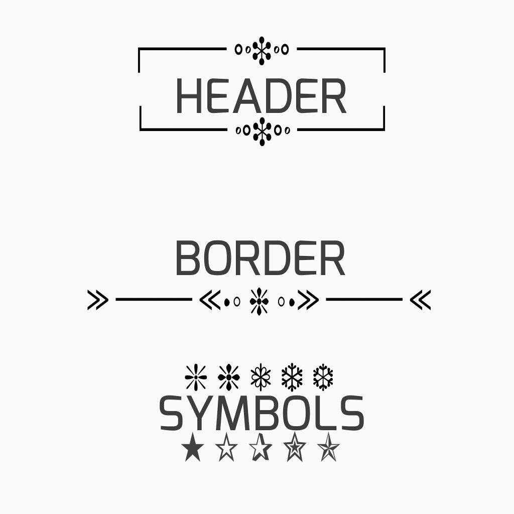 Tutorial for headers borders and symbols armys amino featured 090217 biocorpaavc Choice Image
