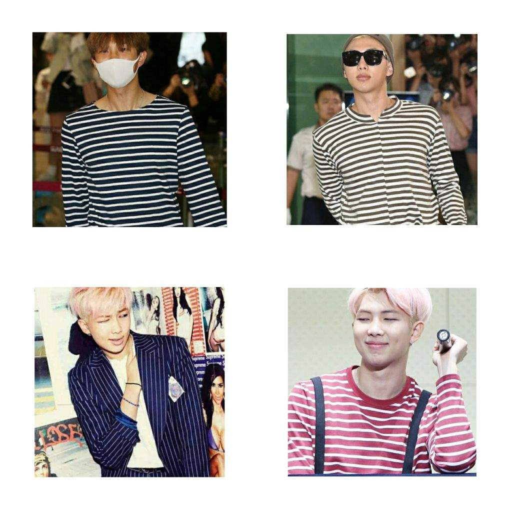 b69a8431a01 If you find Rapmon wearing a shirt with striped pattern